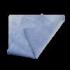 Искусственная замша синяя перфорированная