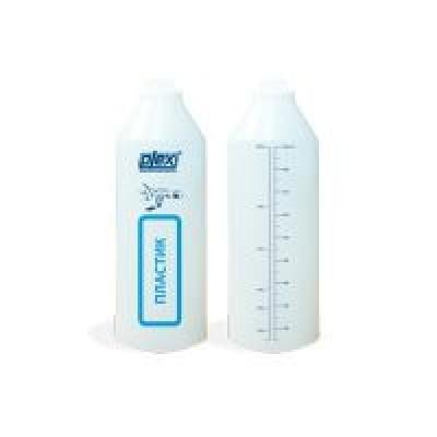 Бутылочка с градуировкой пластик 1 л