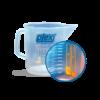 Кружка мерная для разведения автохимии 1 литр