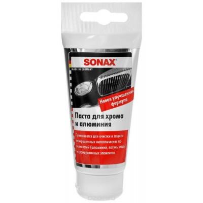Очищающая паста для хрома и алюминия Sonax 75ml