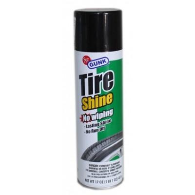 Чернение резины для автомобиля Gunk Tire Shine 481g