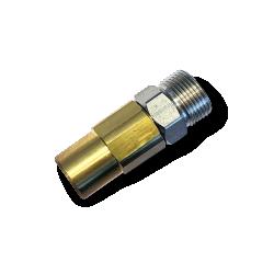 Прямой поворотный фитинг для консоли 1/4 x м22х1.5