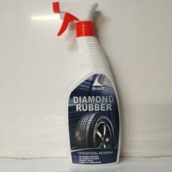 Чернение резины для автомобиля Diamond rubber 600ml